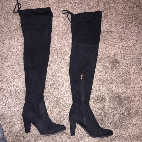Catherine Malandrino Thigh High Boots